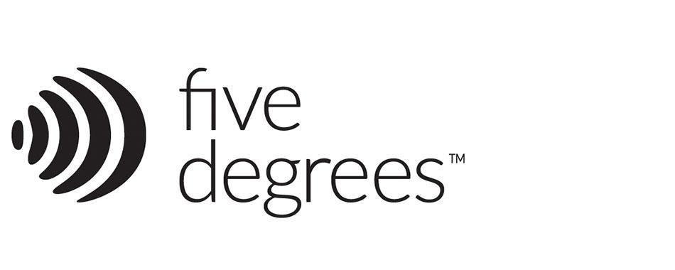 Five Degrees company logo