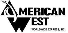 American West Worldwide Express company logo