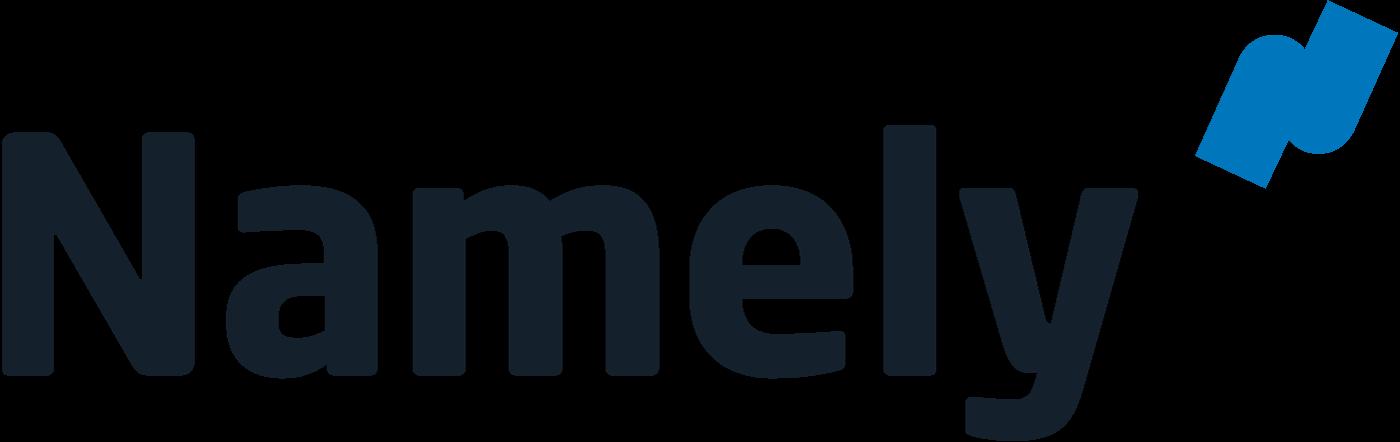 Namely company logo