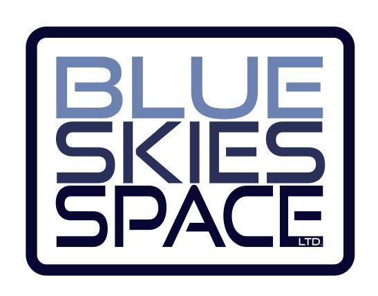 Blue Skies Space company logo