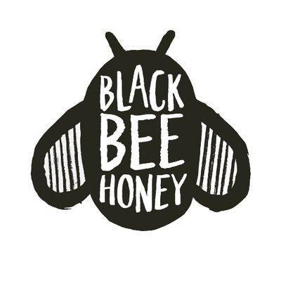 Black Bee Honey company logo