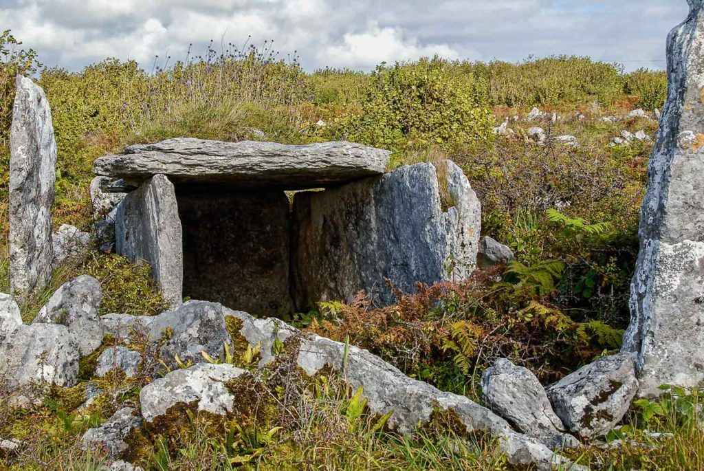 Pre-Christian tombs built as many as 3,000-6,000 years ago endure in the relatively undisturbed Burren farmlands.