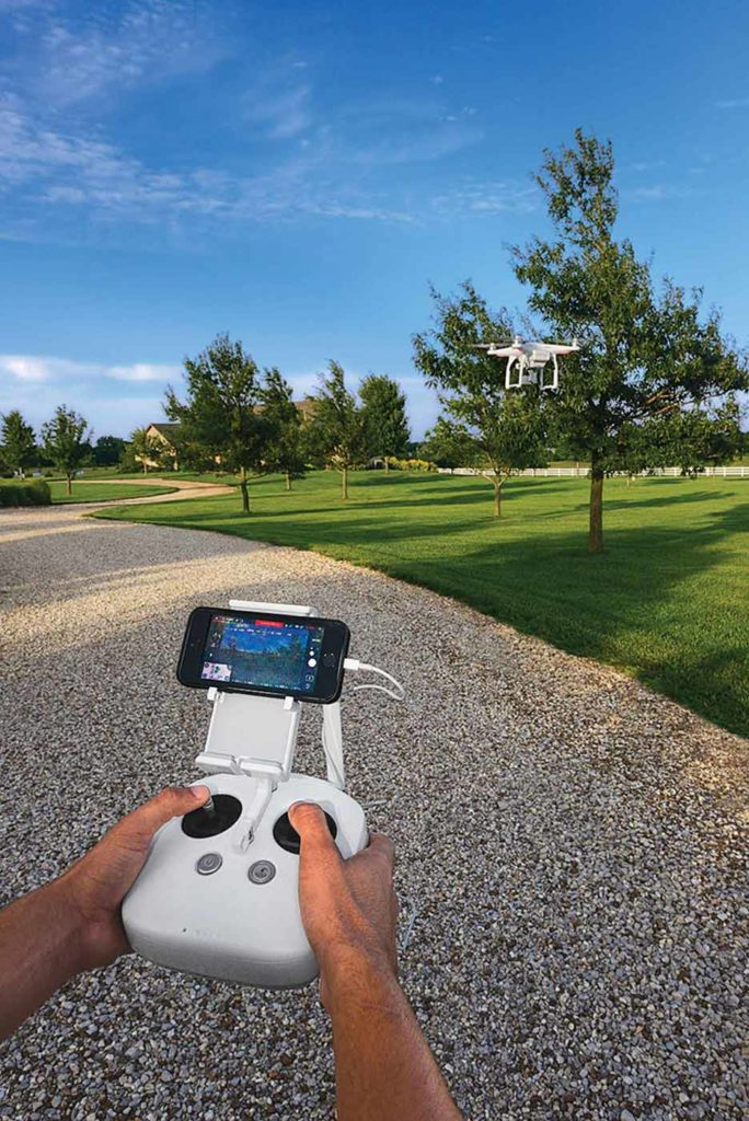 GPS-assisted drones with high-definition video cameras and wireless remote control (above) have proven to be a popular choice for consumers and business entrepreneurs.