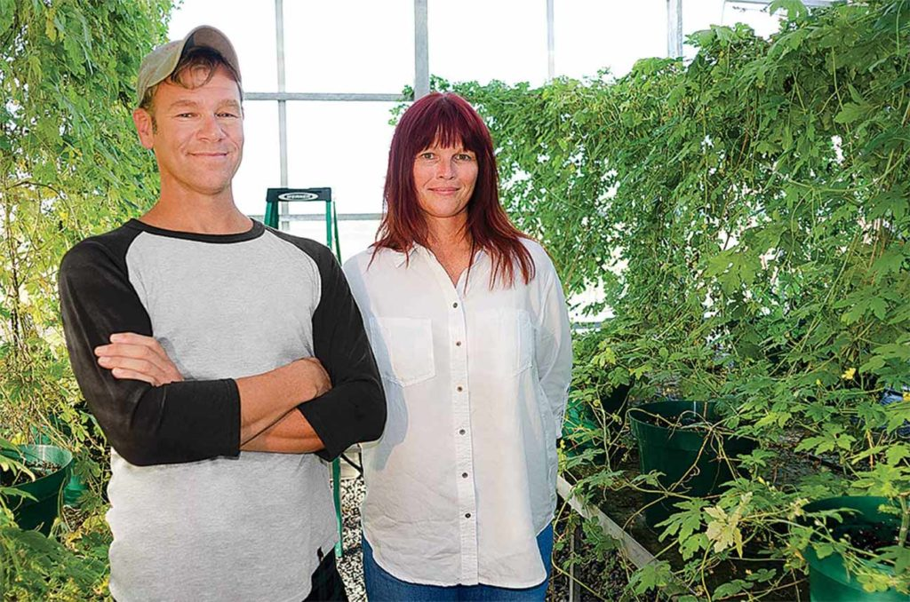 The academy improved Charley Jordan's and Stephanie Haseltine's farm efforts.