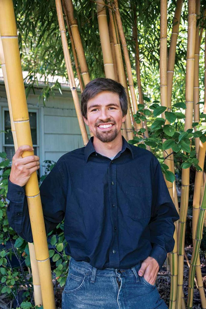 Thielsen Lebo turned his fascination with bamboo into a nursery business.