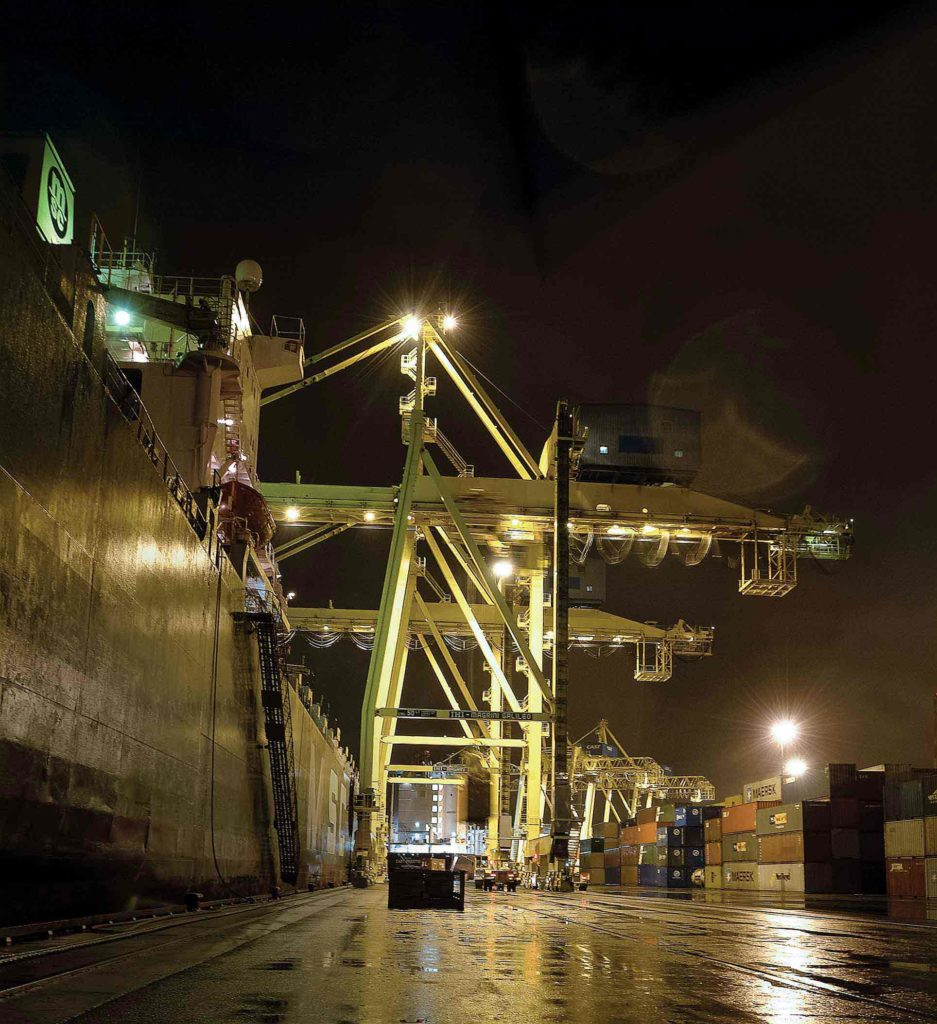 Containers have revolutionized the transportation of goods.