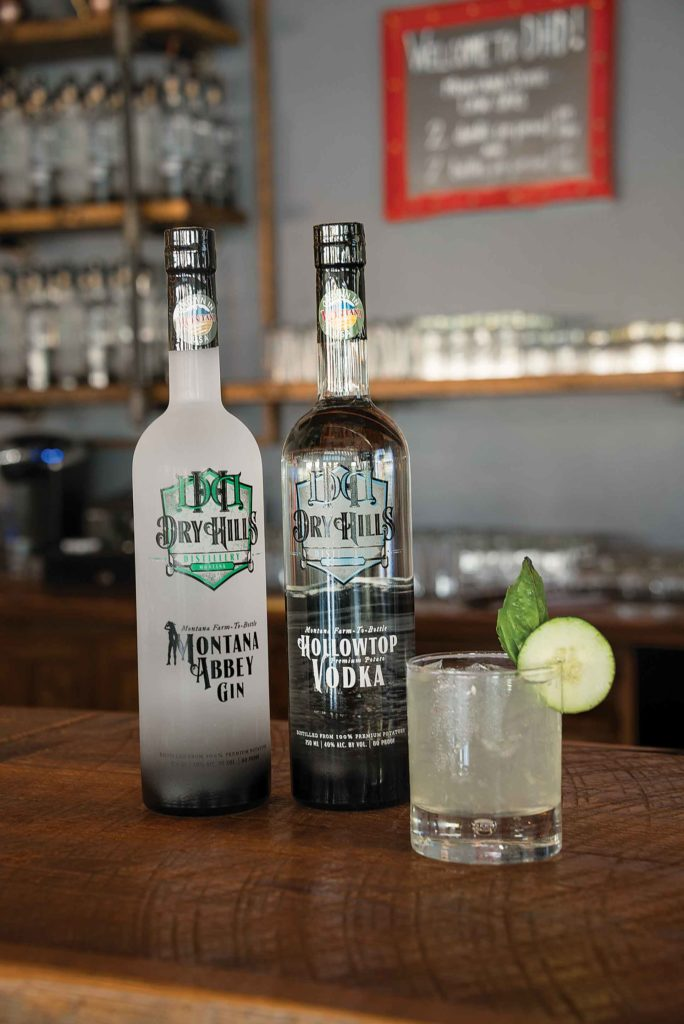 The Droges are distilling Montana's first and only farm-to-bottle potato spirits.