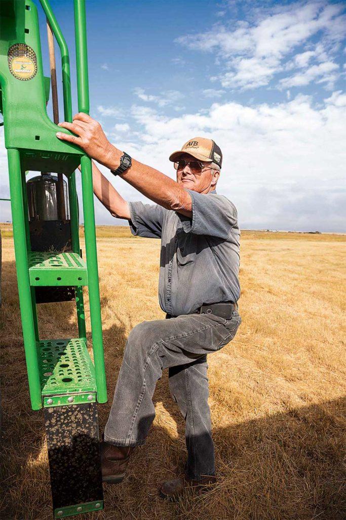Terry Doran dit que sans exercices réguliers, il ne travaillerait plus à 72 ans.