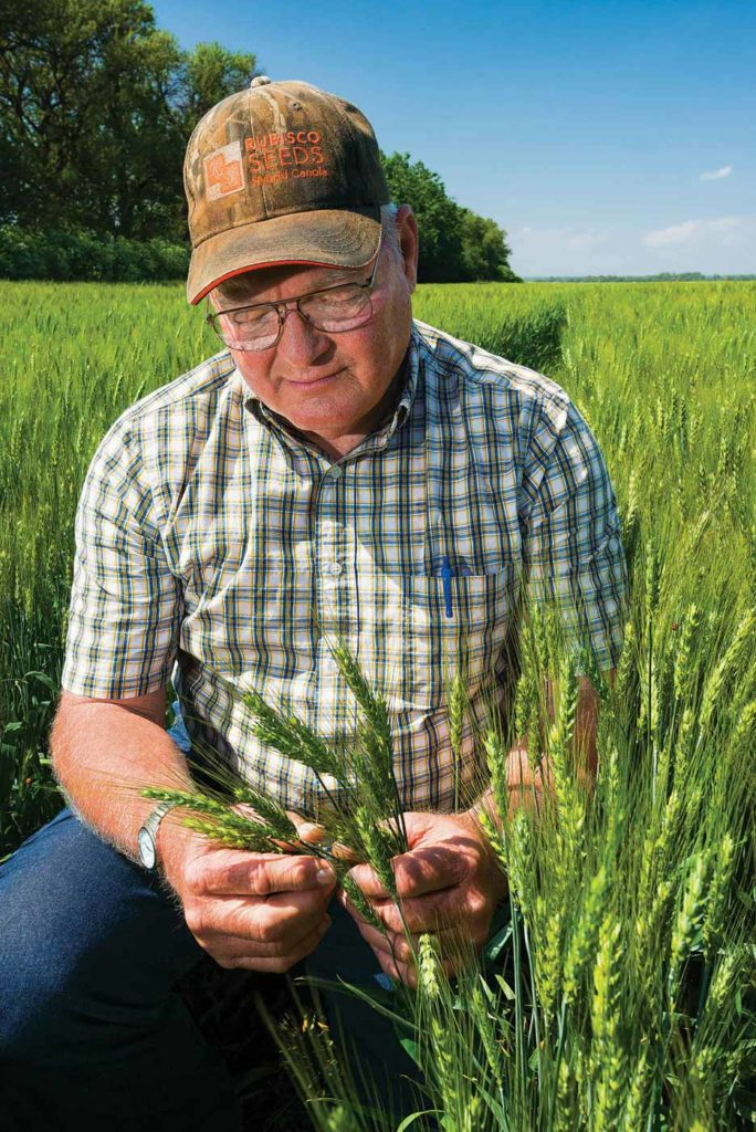 Kansas wheat grower Richard Seck says taking advantage of marketing opportunities has allowed him to be profitable while adding inputs to boost wheat yields.