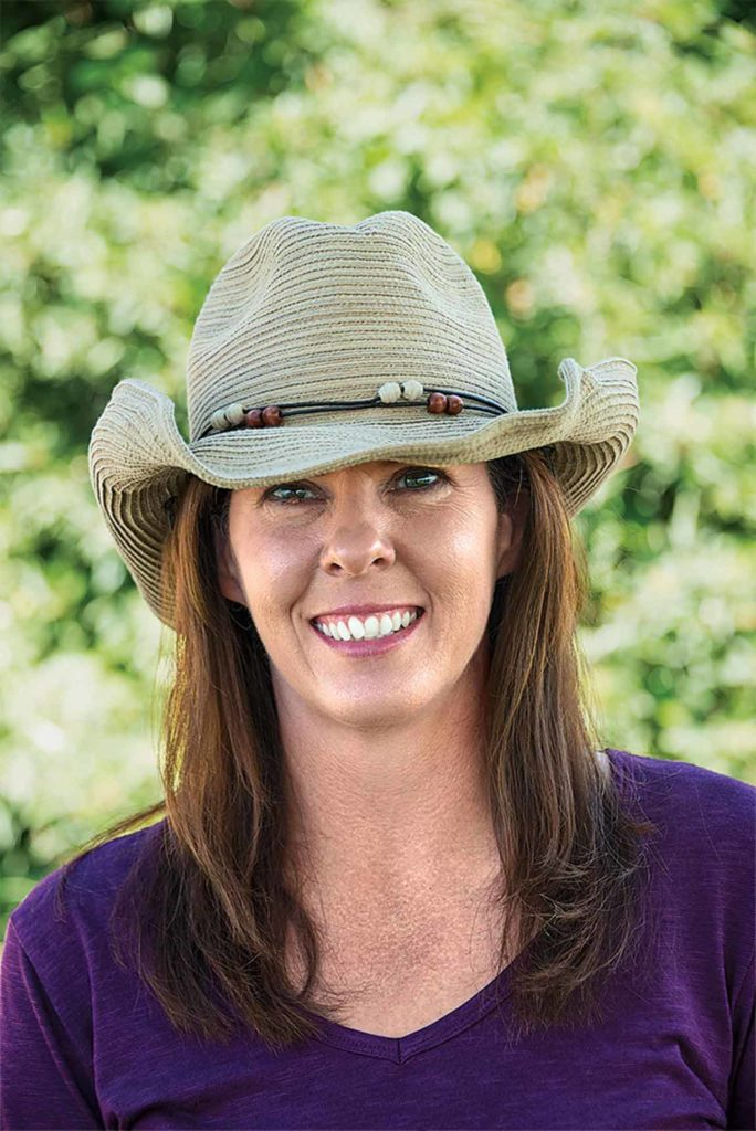 USDA-ARS soil scientist April Leytem led a study that helps Idaho dairy producers comply with state ammonia regulations.