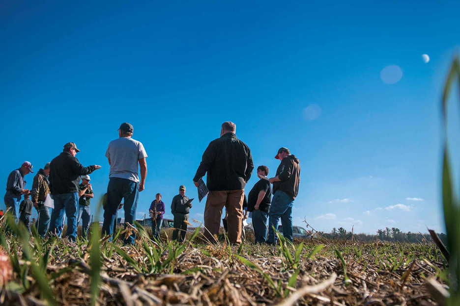 Field days allow Farmers of the Barron County Watersheds to share information.