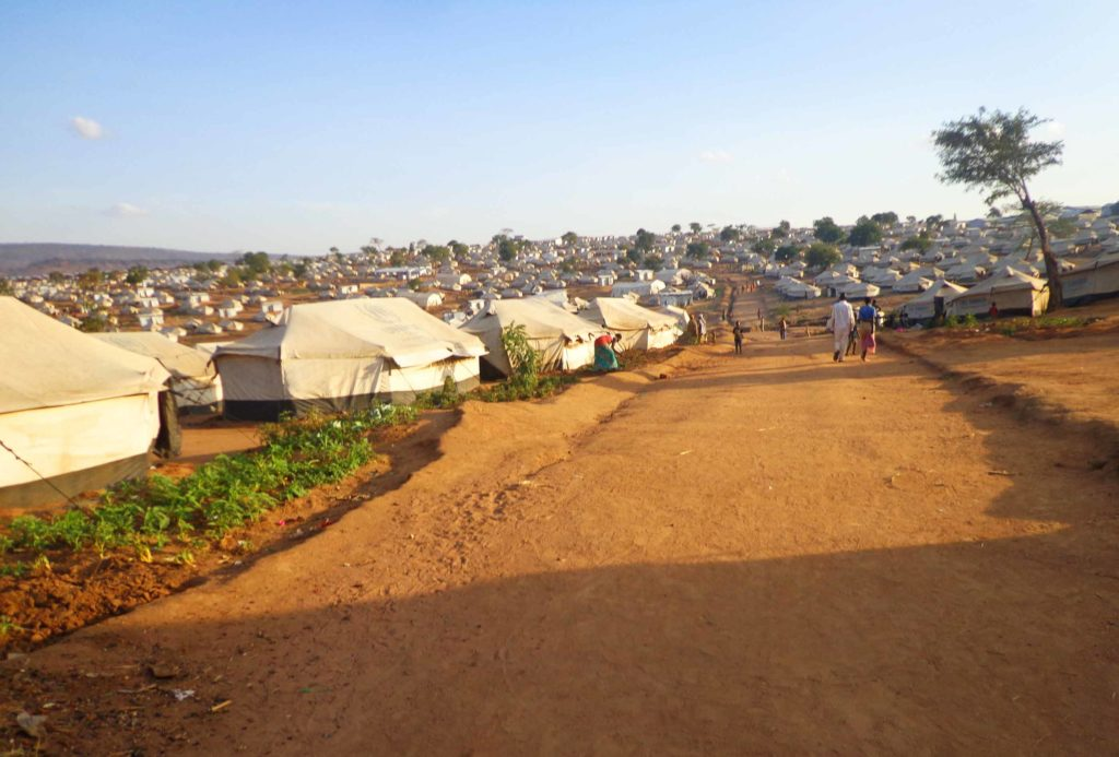 The Mahama Camp is home to more than 53,000 refugees. About 60 percent of the inhabitants are farmers who abandoned their land or left it in the care of friends and family.