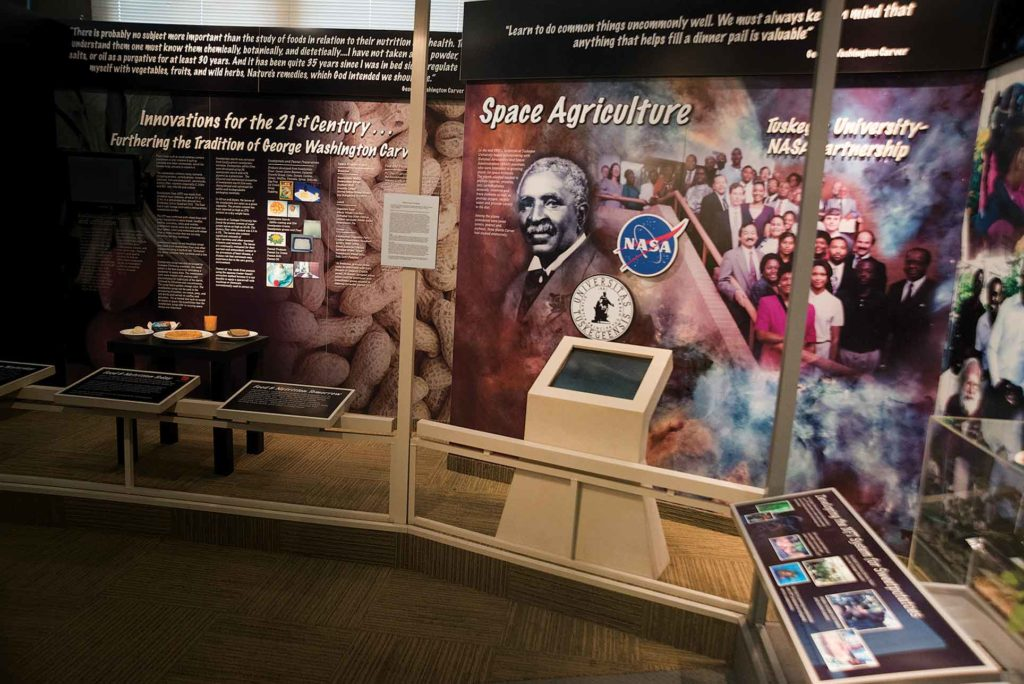 The George Washington Carver Museum at Tuskegee University shows how the researcher's work still influence our world.