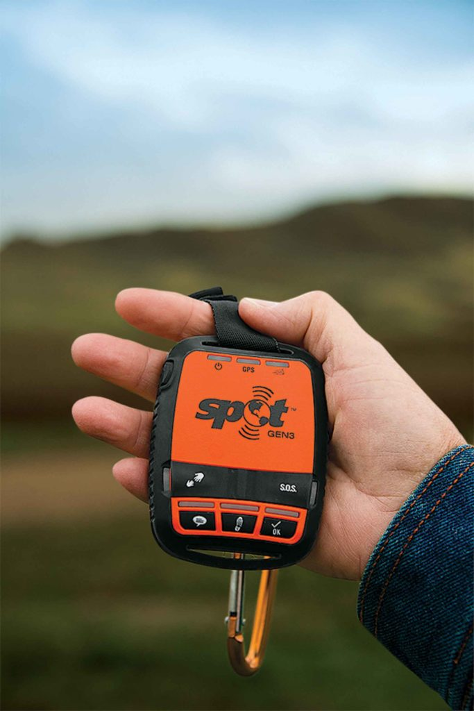 Personal GPS units allow tracking and can quickly call in emergency services.