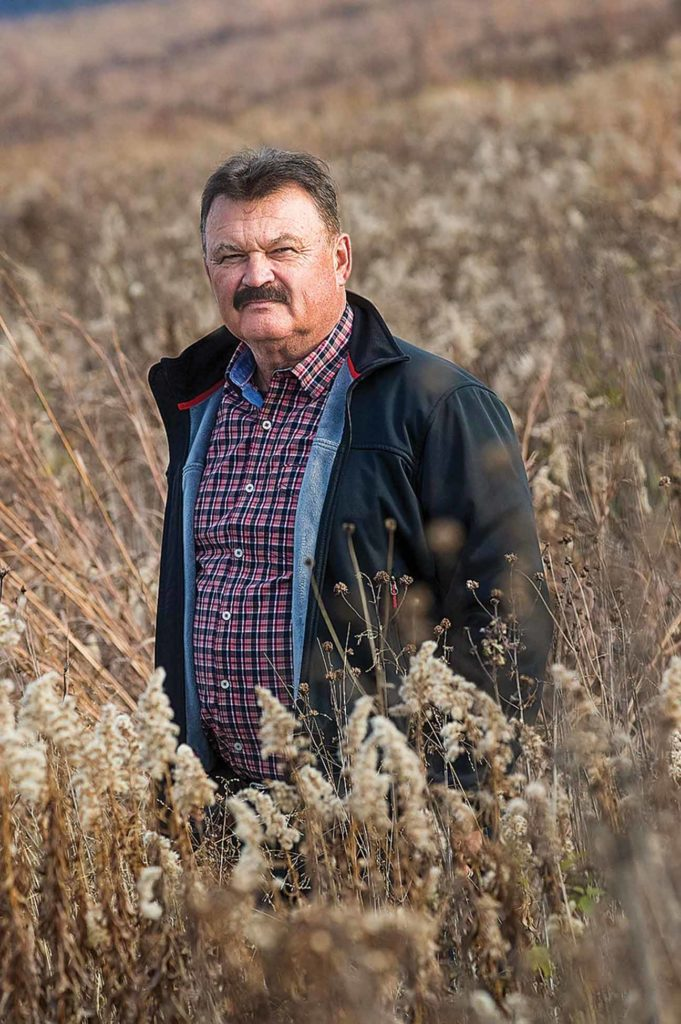 Rudi Roeslein pushes for 30 million acres of prairie restoration.