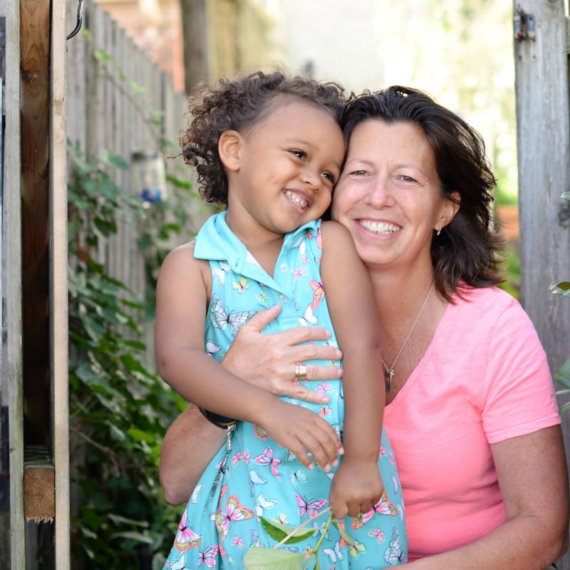 adoption profile - Andrea and Isabella