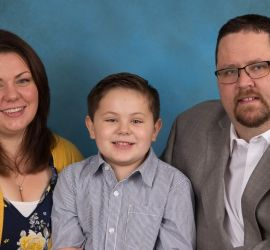 adoption parent profile - Andrew and Liz