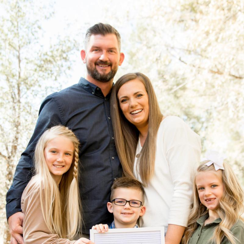 adoption profile - Brady & Sarah