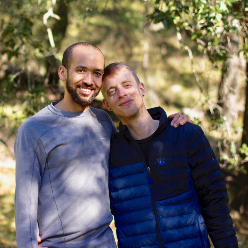 adoption profile - Brandon & Michael
