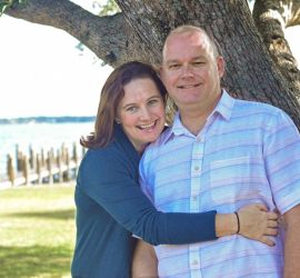 adoption parent profile - Carrie and Jamey