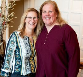 adoption parent profile - Corinne and Adrienne