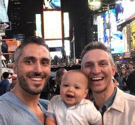 adoption parent profile - Daniel & George