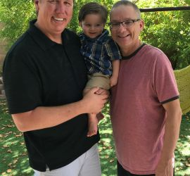 adoption parent profile - Dave & Rob & Sam
