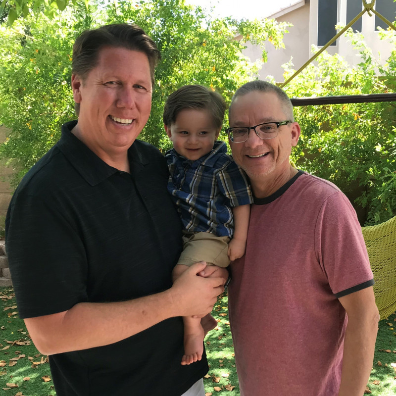adoption profile - Dave & Rob & Sam