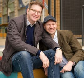 adoption parent profile - Eric and Mike