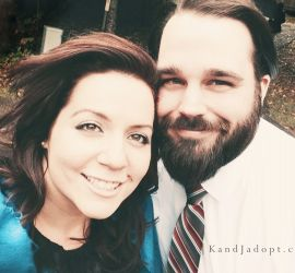 adoption parent profile - Kel Leigh and  Jeff