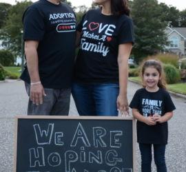 adoption parent profile - Kim and Steve