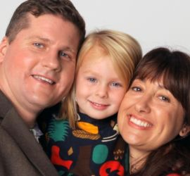 adoption parent profile - Matt Katy and Evelyn