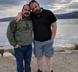 adoption parent profile - Michael and Alain