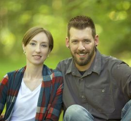 adoption parent profile - Pete and Stacey