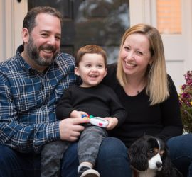 adoption parent profile - Sara and David
