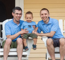 adoption parent profile - Seth & Chris
