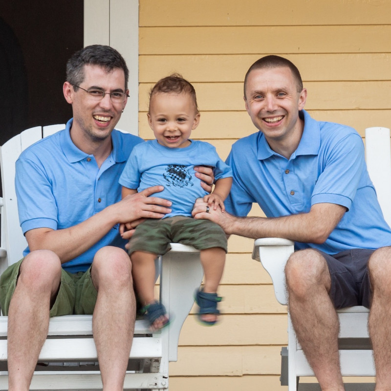 adoption profile - Seth & Chris