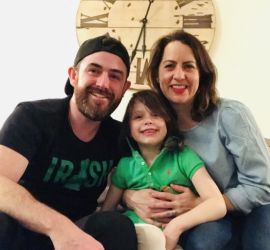 adoption parent profile - Vanessa & Simon