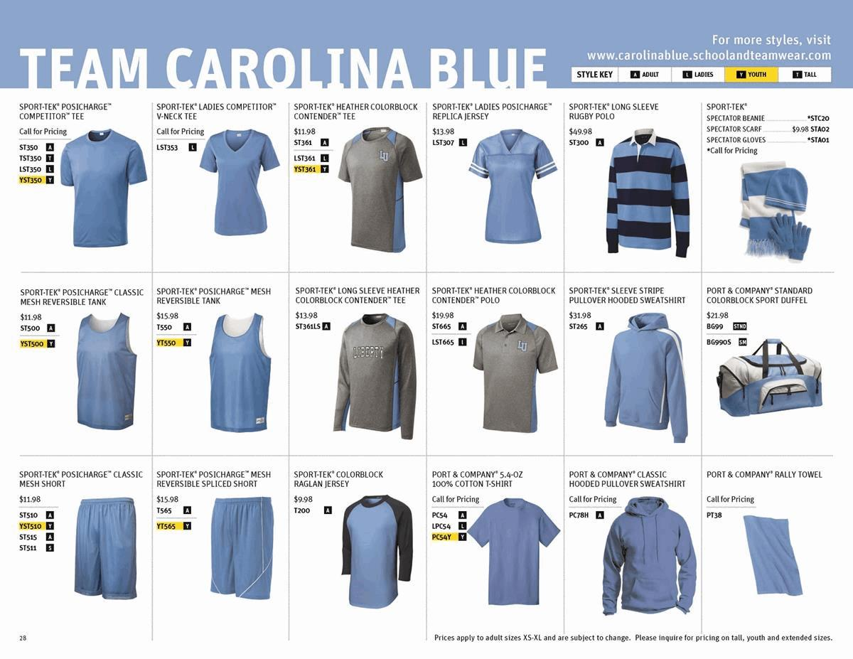 Sport-Tek Team Carolina Blue