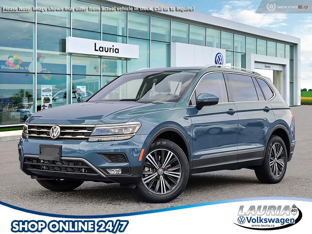 New 2021 Volkswagen Tiguan 2.0T Highline 4Motion AWD 7 ...