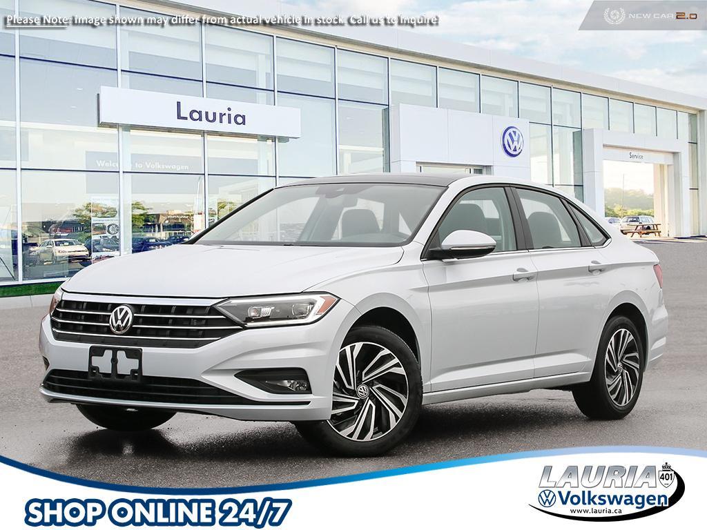 New 2020 Volkswagen Jetta 1.4 TSI Execline w/Beige Interior *DEMO*