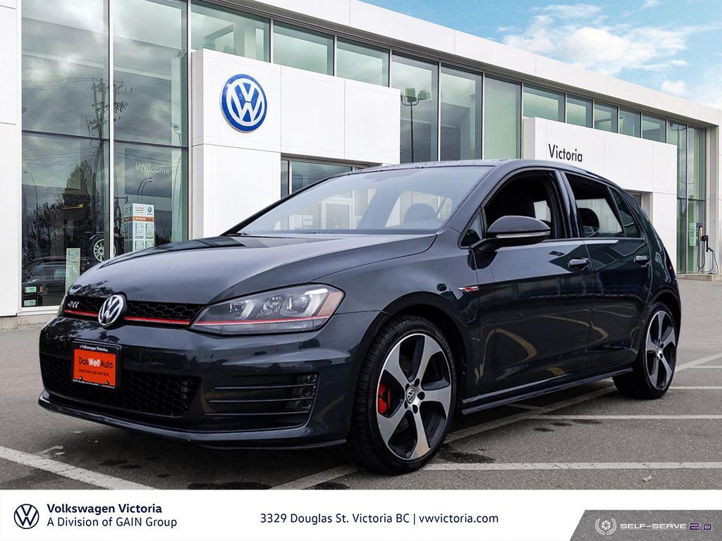 2017 Volkswagen Golf GTI 5-Dr 2.0T Autobahn 6sp DSG at w/Tip
