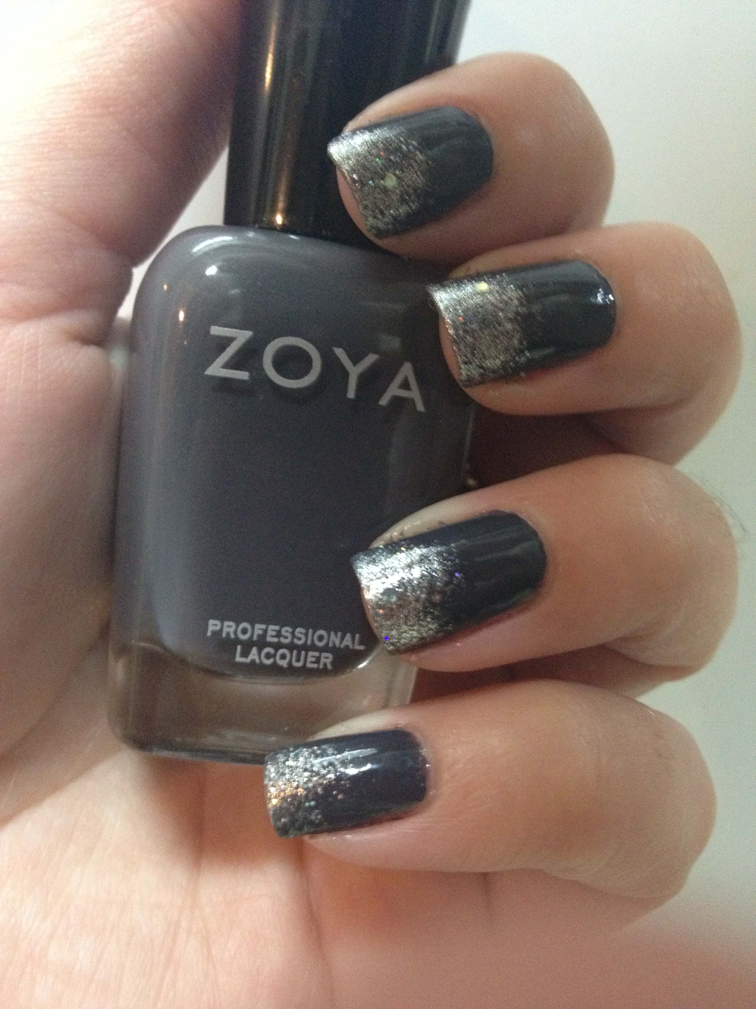New Years Eve Mani with Zoya\'s Kelly & Trixie - Cosmetic Sanctuary