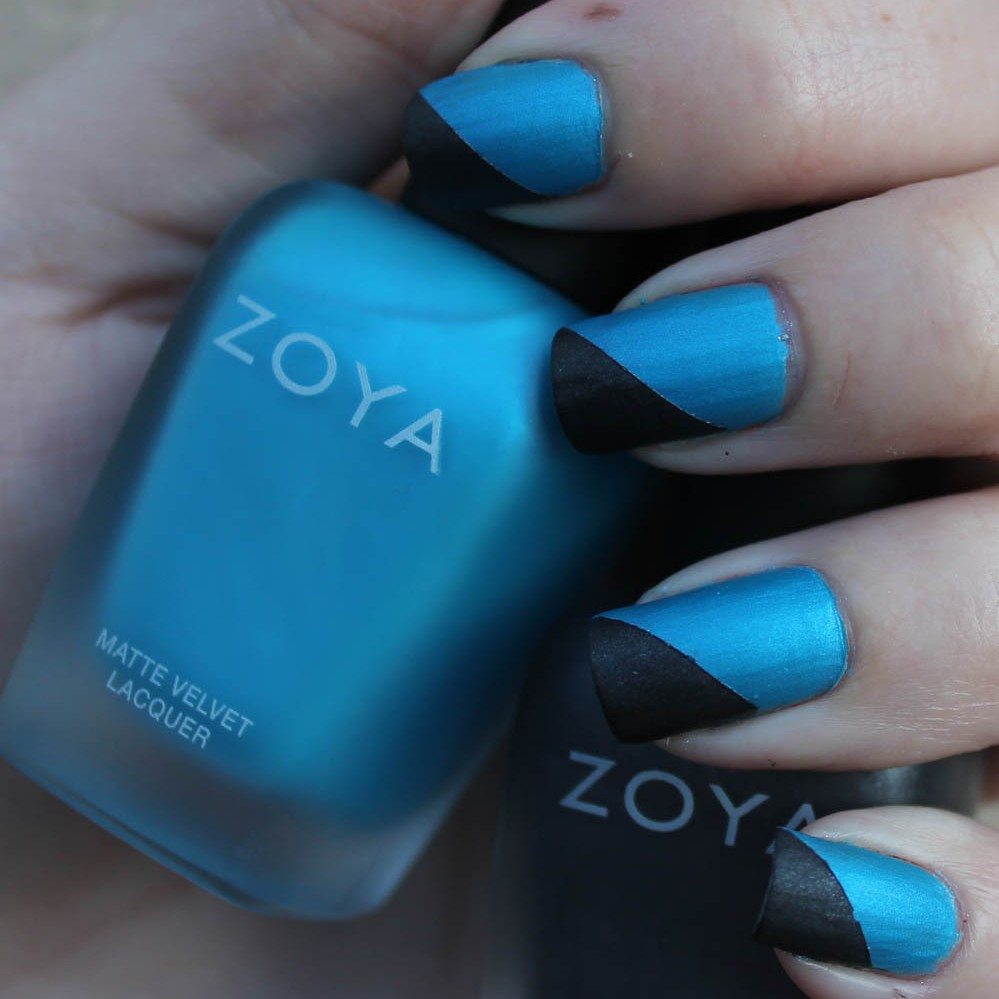 NOTD: Zoya Phoebe and Dovima