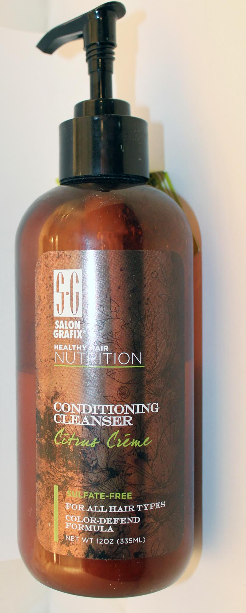 Salon Grafix Conditioning Cleanser in Citrus Creme