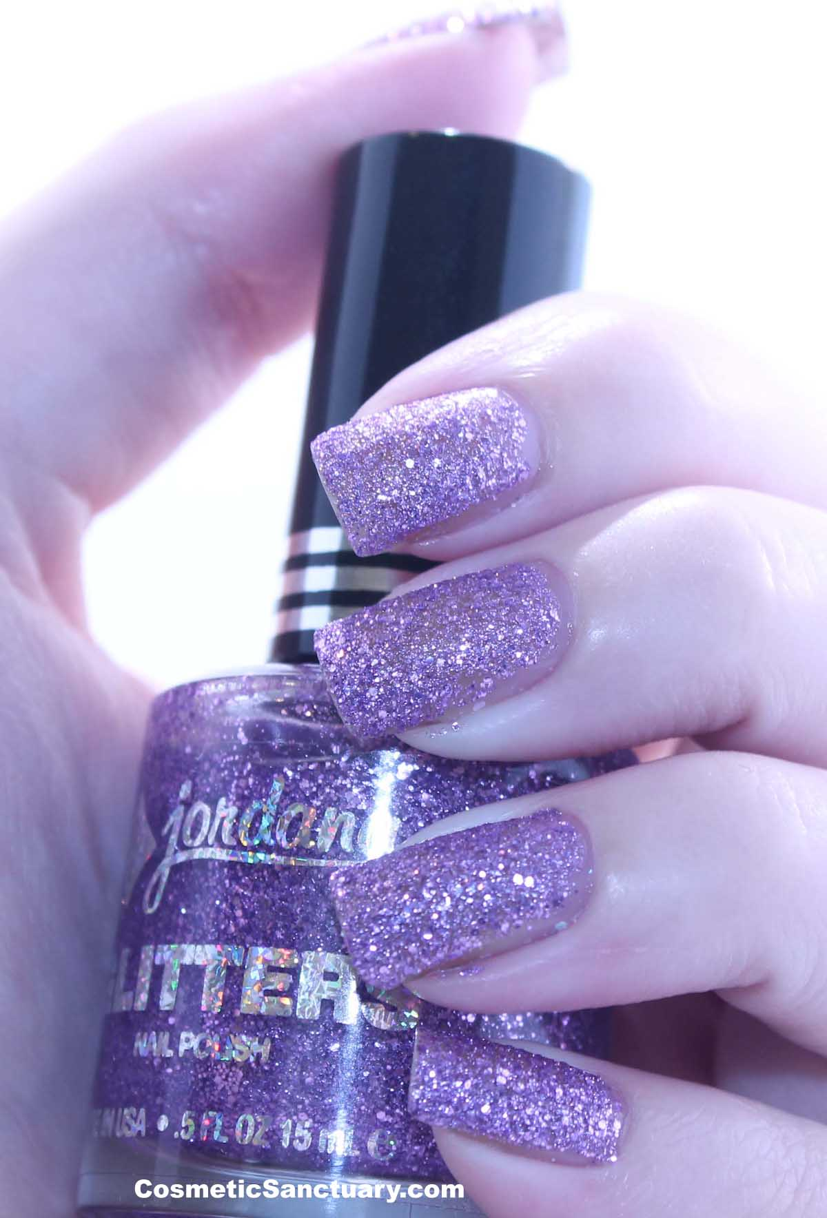 Jordana Glitters Nail Polish Reviews and Swatches