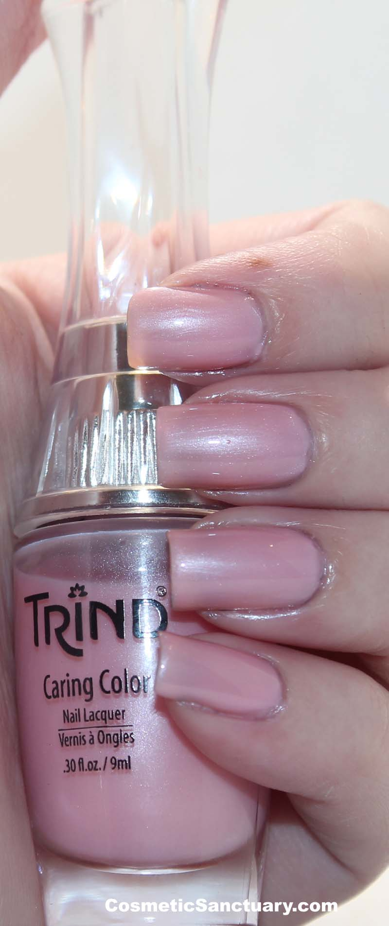 Trind Caring Colors Nail Lacquer Swatches and Reviews