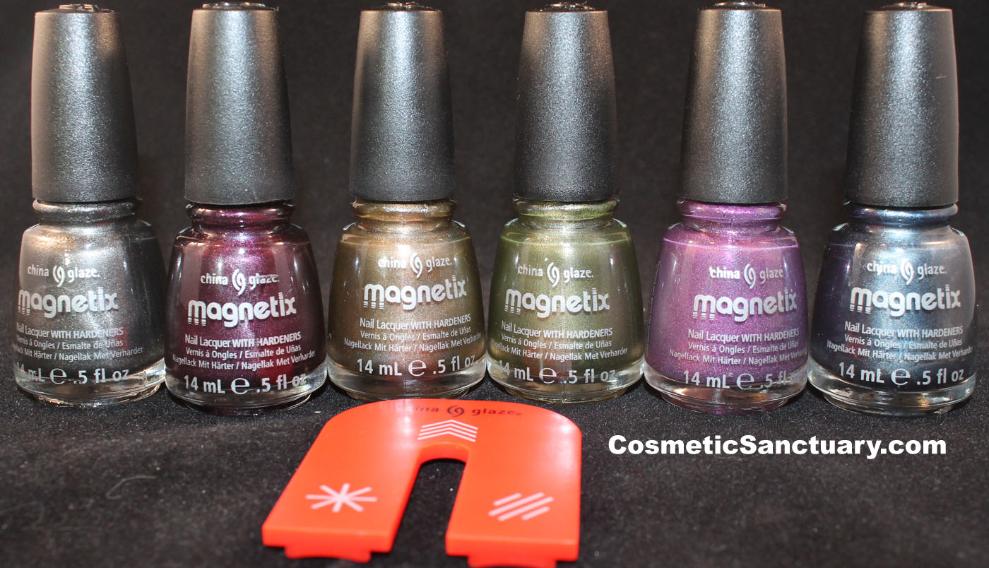 China Glaze Magnetix Collection Review and Swatches