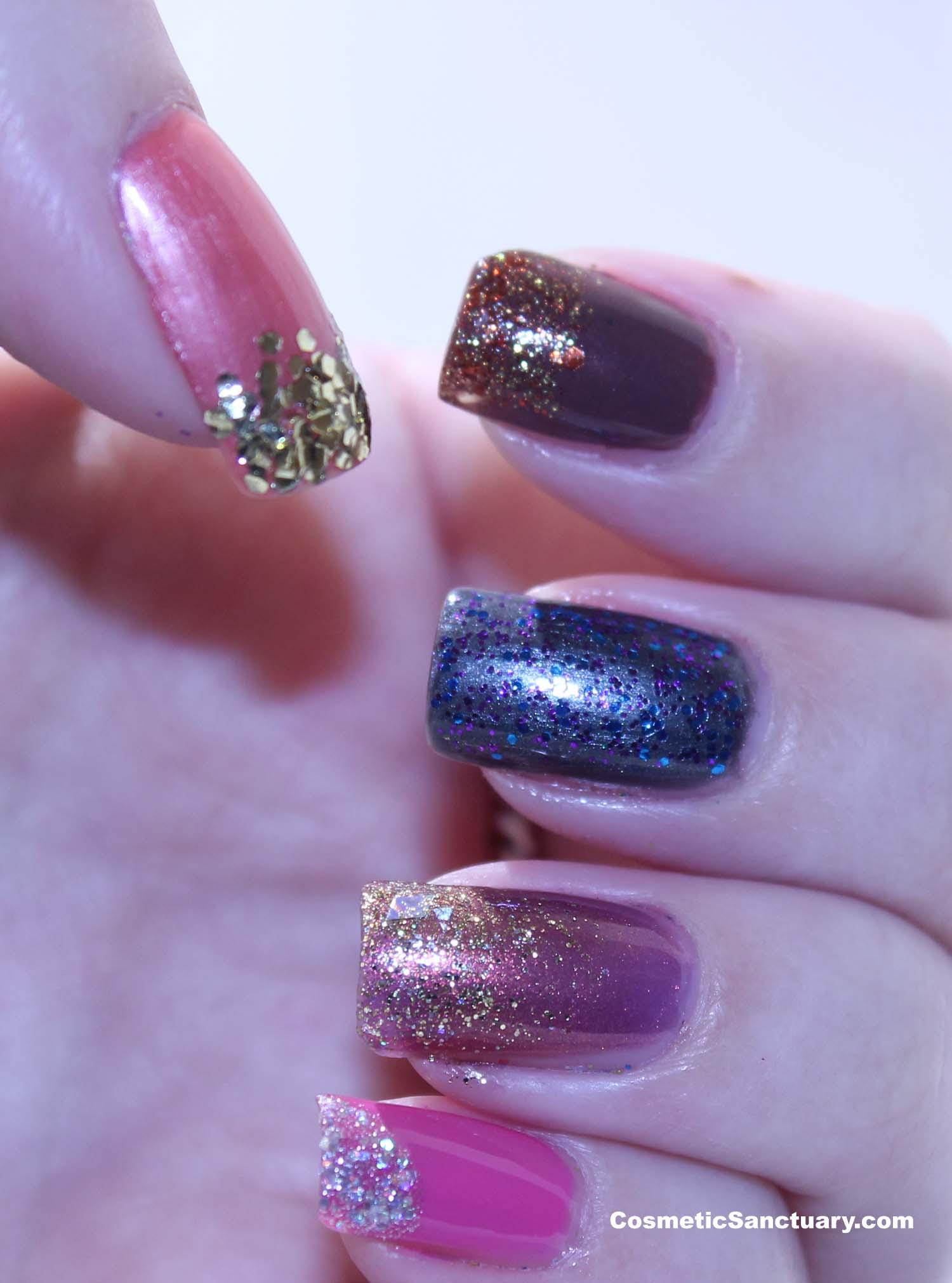Jordana Glitters Nail Polish Reviews and Swatches
