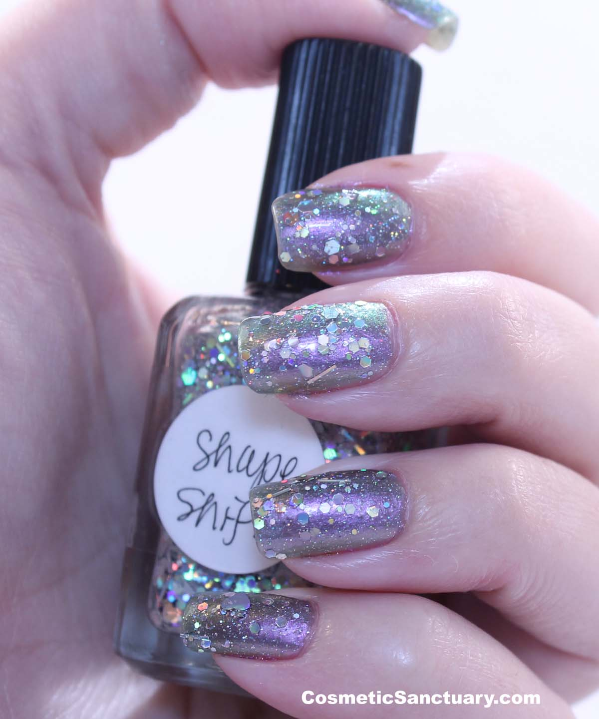 Lynnderella Shape Shifter over Butter London Knackered Swatches and ...